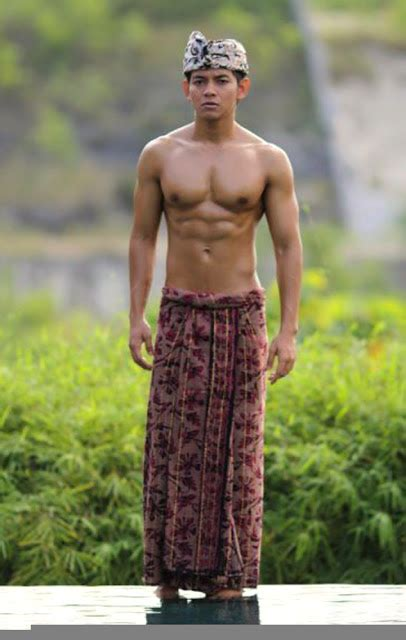 Muslim Male Celebrity Agung Arya The Most Exotic