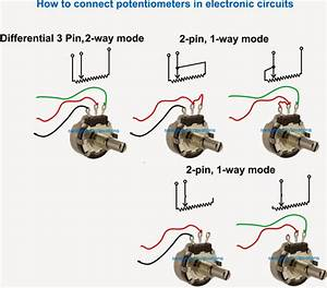 How To Wire A Potentiometer