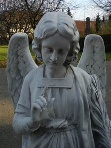 engel gabriel 110 cm hoch engelsfigur grabengel kunstharz With französischer balkon mit garten statue groß
