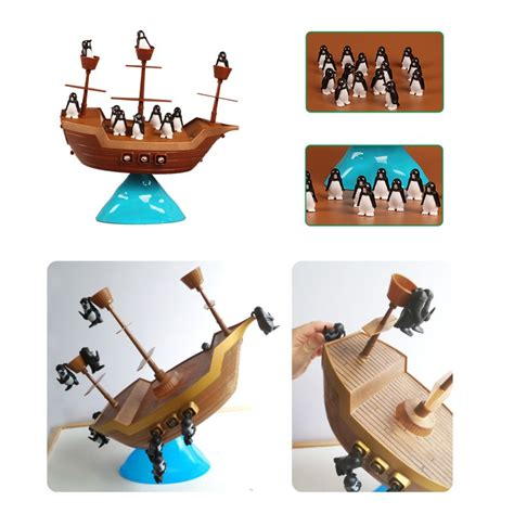 Pirate Boat Balancing Game by Pirate Boat Balancing Game The Toy Factory Shop