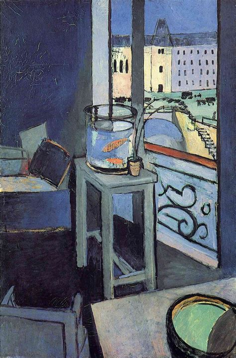 Interior With A Bowl With Red Fish, 1914  Henri Matisse