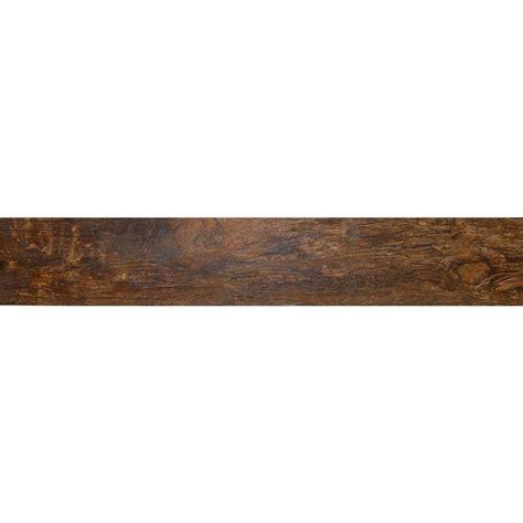 ms international redwood mahogany 6 in x 24 in glazed