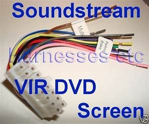 Soundstream Wire Harness Vir 8000 5000 8007 8004 8006t