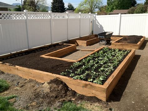 how to build garden boxes 14 ways to start vegetable gardening in boxes