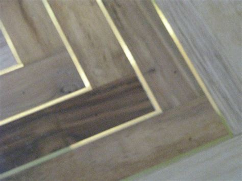 wood flooring  brass inlay flooring pinterest