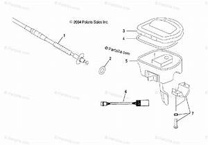 Polaris Atv 2005 Oem Parts Diagram For Controlsthrottle