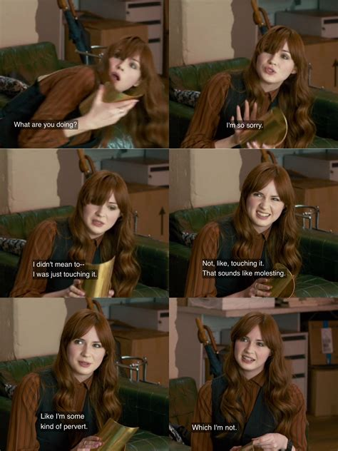 foto de Karen Gillan as Jane Lockhart In Not Another Happy Ending
