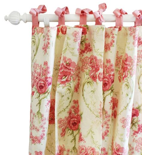 floral curtains curtains pink curtains