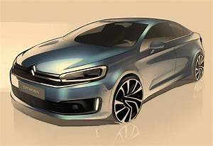 Citroen Shows C-quatre Sketches In China  Could Preview C4 Sedan Rival For Jetta