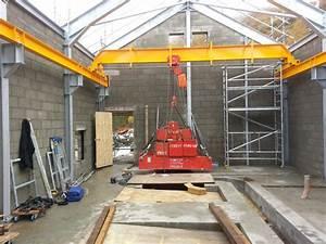 Manual Top Running Crane Bridge For Hydro Scheme