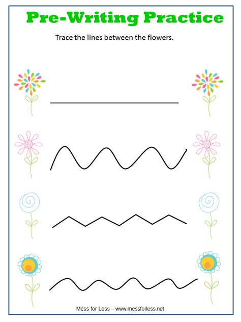 spring preschool worksheets free preschool worksheets mess for less 480