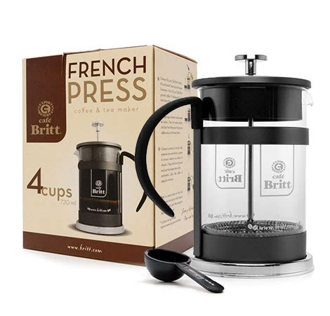 The best coffee machines with grinder combine a good price with useful features. Britt 4-Cup French Press Coffee Maker | 24oz