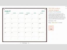 PowerPoint How to insert an monthly calendar? Tips and