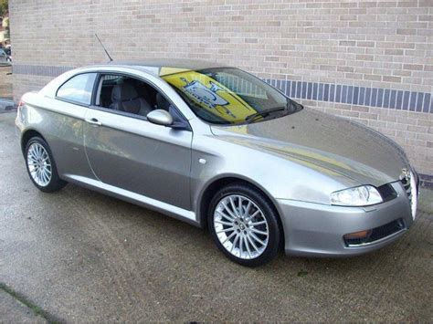 Alfa Romeo Gt For Sale by Used 2008 Alfa Romeo Gt Coupe Grey Edition 1 9 Jtdm 16v