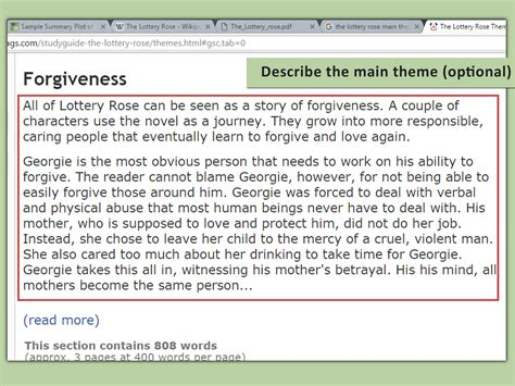 How To Make A Summary Of A Book how to write a book summary with sle summaries wikihow
