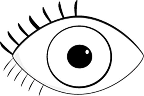 simple eye clipart black and white eye clip black and white clipart panda free