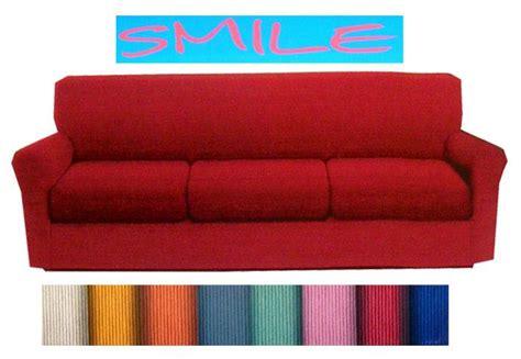 Copridivano 3 Tre Posti Tinta Unita Smile Fino 205 Cm