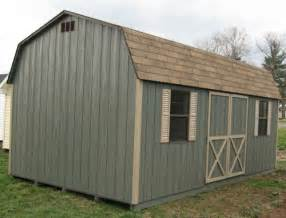 10x20 dutch barn wood shed kit