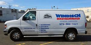 van decals and lettering for construction company nj ajr With van lettering nj