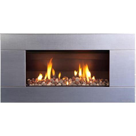 gas fireplace insert rocks escea st900 indoor gas fireplace stainless steel