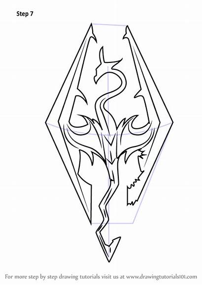 Skyrim Step Draw Scrolls Elder Drawing Tattoo