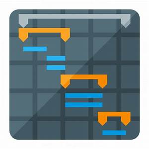 IconExperience » G-Collection » Chart Gantt Icon