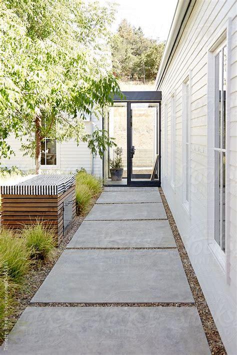 side walkway the 25 best concrete path ideas on pinterest landscape stone near me concrete stone and