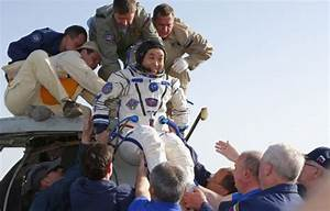 Astronauts return safely to earth from ISS | Daily Mail Online