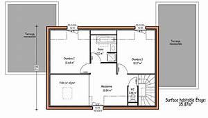 les constructions de maisons en projet en loire atlantique 44 With plan maison a etage 3 chambres