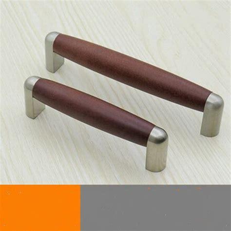 kitchen furniture handles 96mm 128mm modern fashion wooden furniture handles