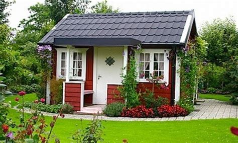 Little Red Swedish Cottage Garden Swedish Paint Colors