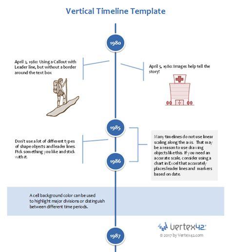 vertical timeline template timeline templates for excel