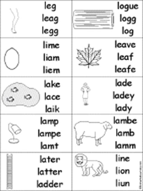 l words and pictures printable cards leaf legs letter l alphabet activities at enchantedlearning