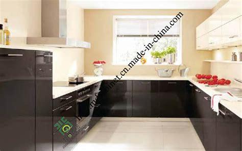 modele cuisine en u module de cuisine étanche à l 39 humidité de noir de modèle