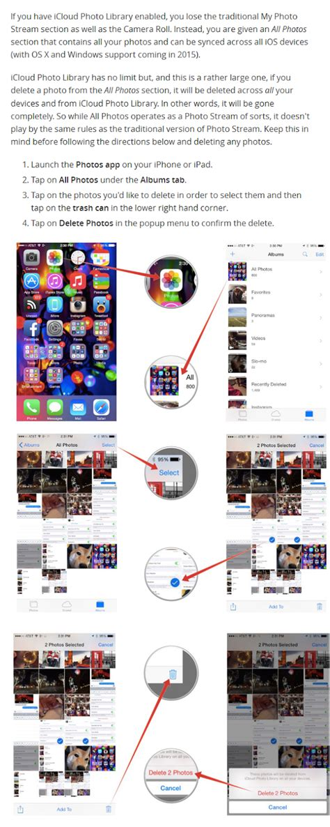 how to delete photo library from iphone how to delete photos from photo on iphone and