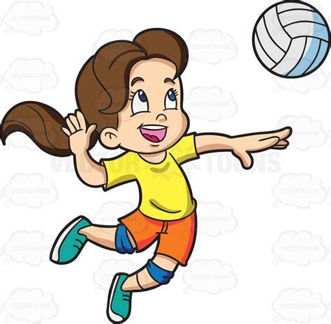 playing cartoon cartoon clipart a girl playing badminton
