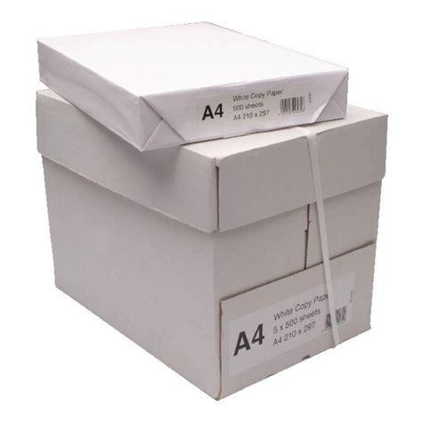 a4 80gsm white office paper 5 500 sheets printerbase