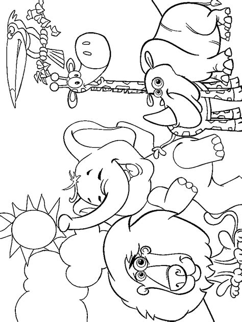 zoo coloring pages animals coloringstar