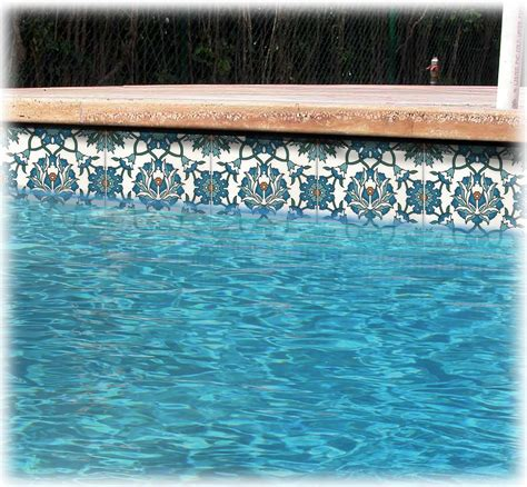 swimming pool tile designs swimming pool liners waterline pool tiles balian studio