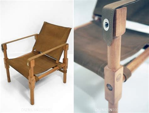 woodwork british campaign chair  plans