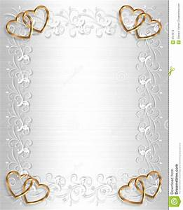 wedding invitation border white satin stock illustration With golden wedding invitation borders free download