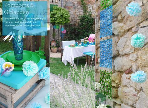 Gartenparty-deko Und Gartenpartyideen
