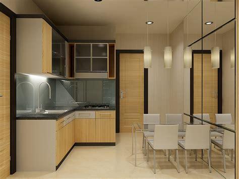 Interior Dapur Minimalis Bergaya Elegan  Desain Dapur