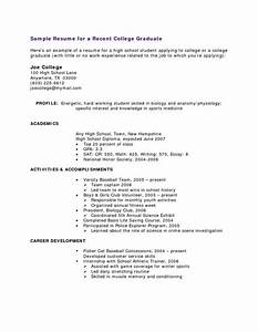 resume templates high school students no experience high