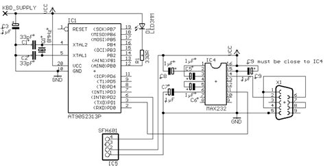Avr Based Serial Port Receiver Electronic