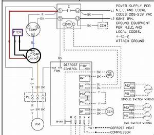 Dual Capacitor With Hard Start Wiring Schematic