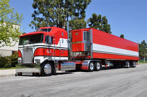 big kenworth trucks ownby trucking kenworth cab over engine big rig truck 1