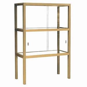 Vitrinenschrank Glas Metall : hk living vitrinenschrank aus glas holz schwarz 75x36x148cm ~ Indierocktalk.com Haus und Dekorationen