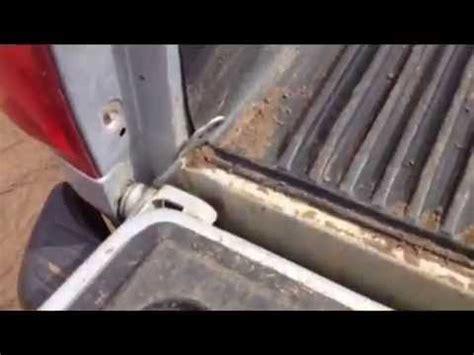 remove  pickup tailgate toyota tundra youtube