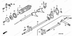 Honda Atv 2007 Oem Parts Diagram For Gearshift Drum